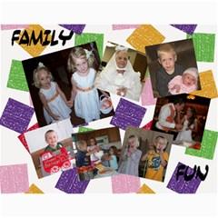 Adrian 2011 Christmas Calendar By Krista Schauff   Wall Calendar 11  X 8 5  (12 Months)   Csogndcijr1q   Www Artscow Com Month