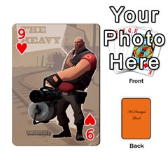 Gaming Deck By Gregor Skeldon   Playing Cards 54 Designs   Ulnsbuq4e6go   Www Artscow Com Front - Heart9