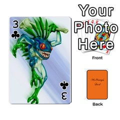 Gaming Deck By Gregor Skeldon   Playing Cards 54 Designs   Ulnsbuq4e6go   Www Artscow Com Front - Club3
