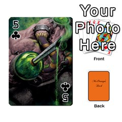 Gaming Deck By Gregor Skeldon   Playing Cards 54 Designs   Ulnsbuq4e6go   Www Artscow Com Front - Club5
