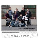 2011 mjs Calendar - Wall Calendar 11  x 8.5  (12-Months)