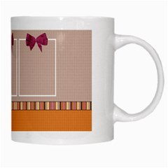 Septembers Blush Mug 1 By Lisa Minor   White Mug   H75udro70ykh   Www Artscow Com Right