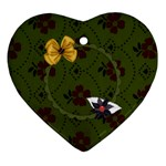 Gypsy Fall Heart Ornament 1 - Ornament (Heart)