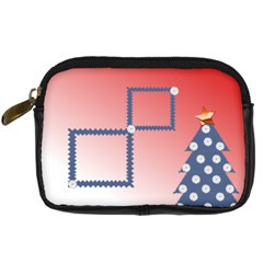 Christmas Tree By Daniela   Digital Camera Leather Case   23v0jr0fsiak   Www Artscow Com Front