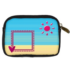 Sunny Day By Daniela   Digital Camera Leather Case   Or59ymwof4dj   Www Artscow Com Back