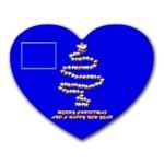 Merry Christmas - Heart Mousepad