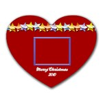 Merry Christmas 2010 - Mousepad (Heart)