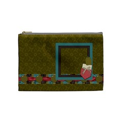 Kit H&h Medium Cosmetic Bag 1 By Lisa Minor   Cosmetic Bag (medium)   L0g0ha3yas46   Www Artscow Com Front