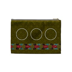 Kit H&h Medium Cosmetic Bag 1 By Lisa Minor   Cosmetic Bag (medium)   L0g0ha3yas46   Www Artscow Com Back
