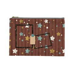 Kit H&h Large Cosmetic Bag 1 By Lisa Minor   Cosmetic Bag (large)   Zfr66se4dr2j   Www Artscow Com Front
