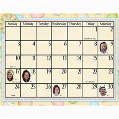 2011 Calendar By Sweetheaven   Wall Calendar 11  X 8 5  (12 Months)   Sm8ajrd9qk58   Www Artscow Com Apr 2011