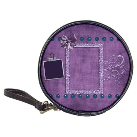 Lavender Rain Cd Wallet 1 By Lisa Minor   Classic 20 Cd Wallet   F3c38o3ip7la   Www Artscow Com Front