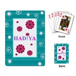Hadiya s cards - Playing Cards Single Design