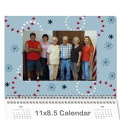 Sue Calendar By Breanne   Wall Calendar 11  X 8 5  (12 Months)   W8tsosnzgb2h   Www Artscow Com Cover