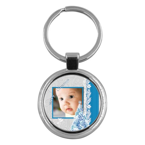 Xmas By Joely   Key Chain (round)   Fnqk0rq43zf7   Www Artscow Com Front