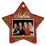 Sisters Ornament - Ornament (Star)