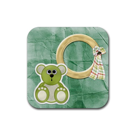 Hh Coaster Set 1 By Lisa Minor   Rubber Square Coaster (4 Pack)   0ls3nn439yyp   Www Artscow Com Front