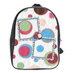 Bloop Bleep Large Backpack 1 - School Bag (Large)