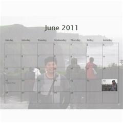 2011 By Phungm   Wall Calendar 11  X 8 5  (12 Months)   Goxuf5f78kia   Www Artscow Com Jun 2011