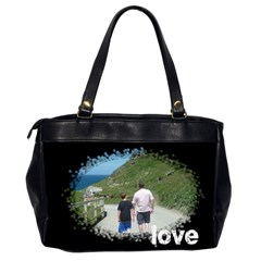 Family Love Oversized Office Bag By Catvinnat   Oversize Office Handbag (2 Sides)   Wwx7wgkzby4w   Www Artscow Com Back