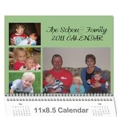Schauff Christmas Calendar By Krista Schauff   Wall Calendar 11  X 8 5  (12 Months)   90jgw0kcikck   Www Artscow Com Cover
