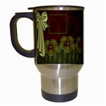 Old World Travel Mug 1 - Travel Mug (White)