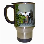 Botanical Wonderland Travel Mug - Travel Mug (White)