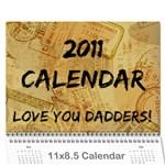 Dad Calendar - Wall Calendar 11  x 8.5  (12-Months)