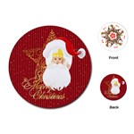 christmas - Playing Cards (Round)