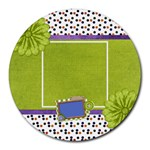 Aatb Round Mousepad 1 - Collage Round Mousepad