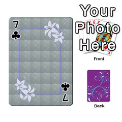 Playing Cards 54 Designes By Galya   Playing Cards 54 Designs   W4hxokdrgd58   Www Artscow Com Front - Club7