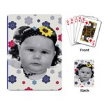 Flower Power Card Layout - Playing Cards Single Design