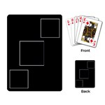 3 Photo Card Layout - Playing Cards Single Design