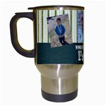 dads mug - Travel Mug (White)