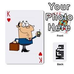 King Mafia By Jl   Playing Cards 54 Designs   Fngz0zfzprlk   Www Artscow Com Front - HeartK