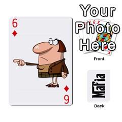 Mafia By Jl   Playing Cards 54 Designs   Fngz0zfzprlk   Www Artscow Com Front - Diamond6