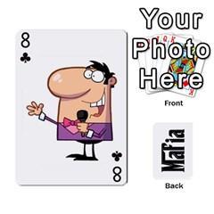 Mafia By Jl   Playing Cards 54 Designs   Fngz0zfzprlk   Www Artscow Com Front - Club8
