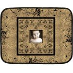Golden Child Baby Heirloom Mini fleece blanket