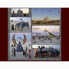 Burning Man Art And Cars 2011 By Karl Bralich   Wall Calendar 11  X 8 5  (12 Months)   2a0z0fp67cjc   Www Artscow Com Month