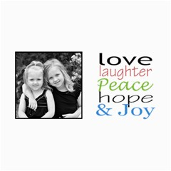 Love And Laughter Card By Amanda Bunn   4  X 8  Photo Cards   Zvhw5yhc9bsq   Www Artscow Com 8 x4 Photo Card - 8