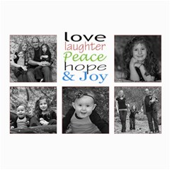 Love And Laughter Card By Amanda Bunn   5  X 7  Photo Cards   E0x0j1qawmrp   Www Artscow Com 7 x5 Photo Card - 5