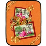 Tangerine Breeze Small Blanket 1 - Fleece Blanket (Mini)