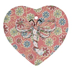 Pips 2 Sided Heart Ornament 2 By Lisa Minor   Heart Ornament (two Sides)   7y8df61tsnmg   Www Artscow Com Back