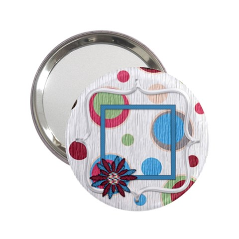 Bloop Bleep Mirror 1 By Lisa Minor   2 25  Handbag Mirror   Fiqgvxjde4ng   Www Artscow Com Front