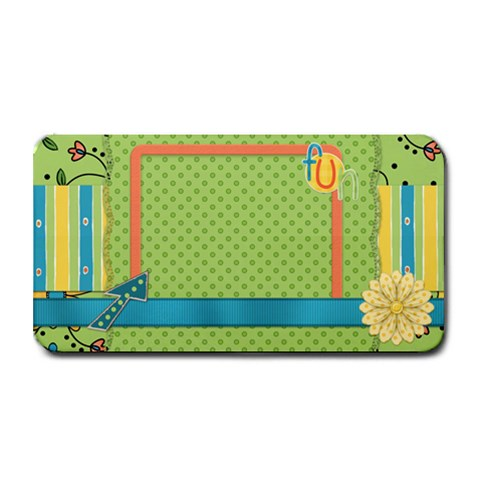 Fanciful Fun Medium Bar Mat By Lisa Minor 16 x8.5  Bar Mat