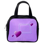 Purple heart bag - Classic Handbag (One Side)
