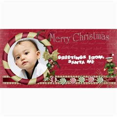 Custom 4  X 8  10 Christmas Photo Cards By J A N B   4  X 8  Photo Cards   Psfmqfo46qwm   Www Artscow Com 8 x4 Photo Card - 1