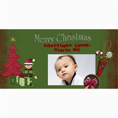 Custom 4  X 8  10 Christmas Photo Cards By J A N B   4  X 8  Photo Cards   Psfmqfo46qwm   Www Artscow Com 8 x4 Photo Card - 3