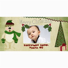 Custom 4  X 8  10 Christmas Photo Cards By J A N B   4  X 8  Photo Cards   Psfmqfo46qwm   Www Artscow Com 8 x4 Photo Card - 4