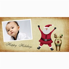 Custom 4  X 8  10 Christmas Photo Cards By J A N B   4  X 8  Photo Cards   Psfmqfo46qwm   Www Artscow Com 8 x4 Photo Card - 6